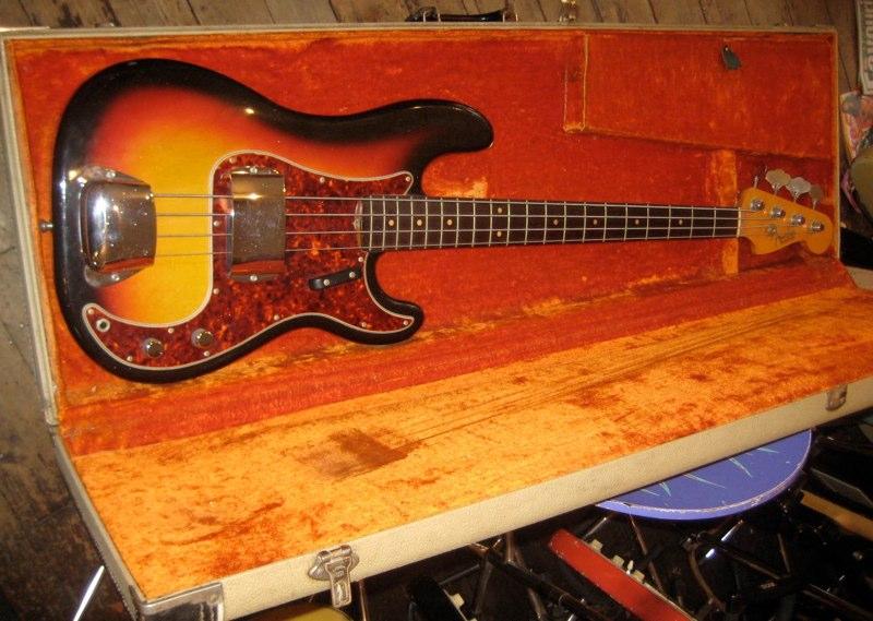 fender precision bass 1964 bass for sale new kings road guitars. Black Bedroom Furniture Sets. Home Design Ideas