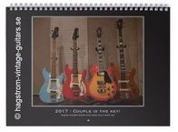 Hagstrom The 2017 Hagstrom Vintage Guitars Calendar 2016