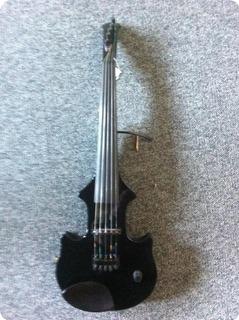 zeta violins jazz fusion 5 stringed 1996 black gloss bowed instrument for sale musikhuset odense. Black Bedroom Furniture Sets. Home Design Ideas