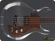 Dan Amstrong Ampeg Luthite Plexi Bass 1970 Clear