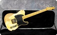 Nash Guitars Jeff Beck Esquire 2012 Butterscotch Blonde