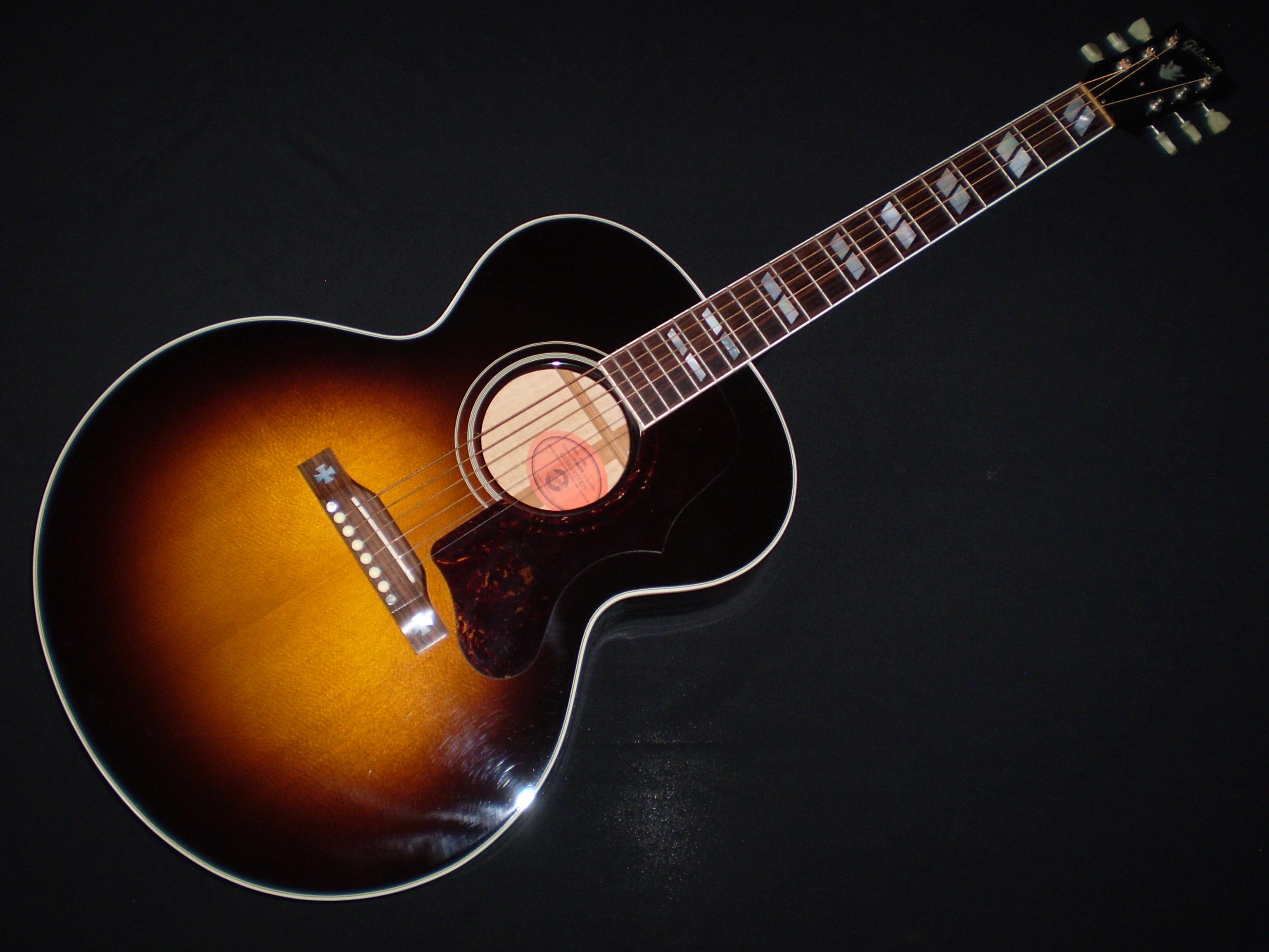 gibson j185 2004 sunburst guitar for sale glenns guitars. Black Bedroom Furniture Sets. Home Design Ideas