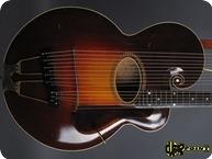 Gibson Style U Harpguitar 1919 Sunburst