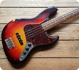 Fender Custom Shop Jazz Bass Relic Cunetto 1998 Sunburst