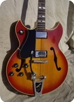 Gibson Barney Kessel Lefty 1966 Cherry Sunburst