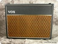Vox AC 306 Black Tolex Copper Panel