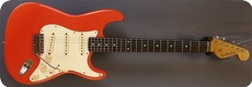 Real Guitars Mastergrade Old Stock Wood S Model 2016 Fiesta Red