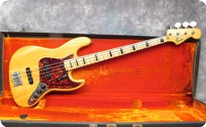 Fender Jazz 1972 Natural