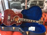 Gibson J 200M 2007 Wine Red