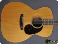 Martin 000 18 Pre war Scalloped 1943 Natural