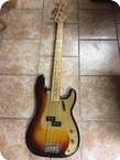 Fender Precision Bass 1958 3 tone Sunburst