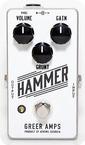 Greer Amps Greer Amps Hammer Fuzz Overdrive 2016 White
