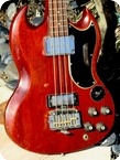 Gibson SG JR 1965 Cardinal Red