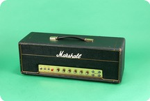 Marshall 50 Watt Plexi Guitar Amplifier 1968 Black