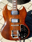 Gibson SG Deluxe Stereo Model 1972 Walnut