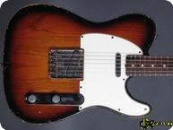 Fender Telecaster 1965 3 tone Sunburst
