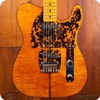 HS Anderson Mad Cat Telecaster 2017 Amber