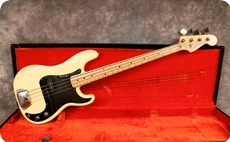 Fender Precision 1974 Olympic White