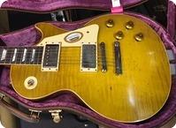 Gibson Custom Shop Les Paul Standard 1959 Reissue Collectors Choice 45 Danger Burst 2017 Lemonburst