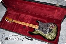 Fender Japan Richie Sambora Signature Stratocaster 1996 Black Paisely