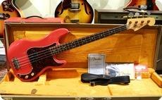 Fender Custom Shop Pino Palladino Signature Precision 2012 Fiesta Red