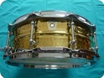 Ludwig Ludwig Brass Hammered Snare 14x5 LB420BKT 2014 Brass