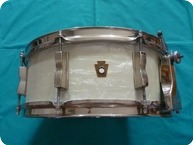 Ludwig 1950s WFL Buddy Rich Super Classic Snare Drum 14 X 55 1950 White Marine Pearl