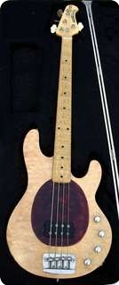 Music Man Musicman Sting Ray Stingray 1996 Natural Figured Maple Top