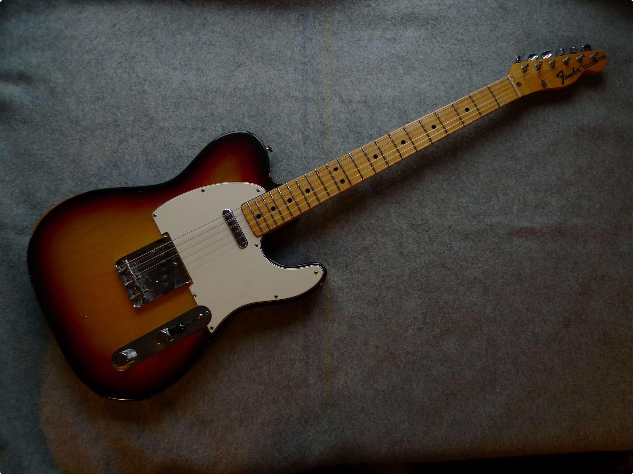 fender telecaster 1974 guitar for sale mean mojo guitars. Black Bedroom Furniture Sets. Home Design Ideas