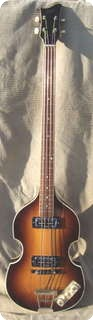 Hofner Violin Bass 1966 Sunburst