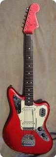 Fender Jaguar 1965 Car Candy Apple Red