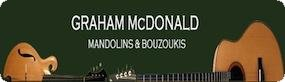 Graham McDonald Mandolins and Bouzoukis