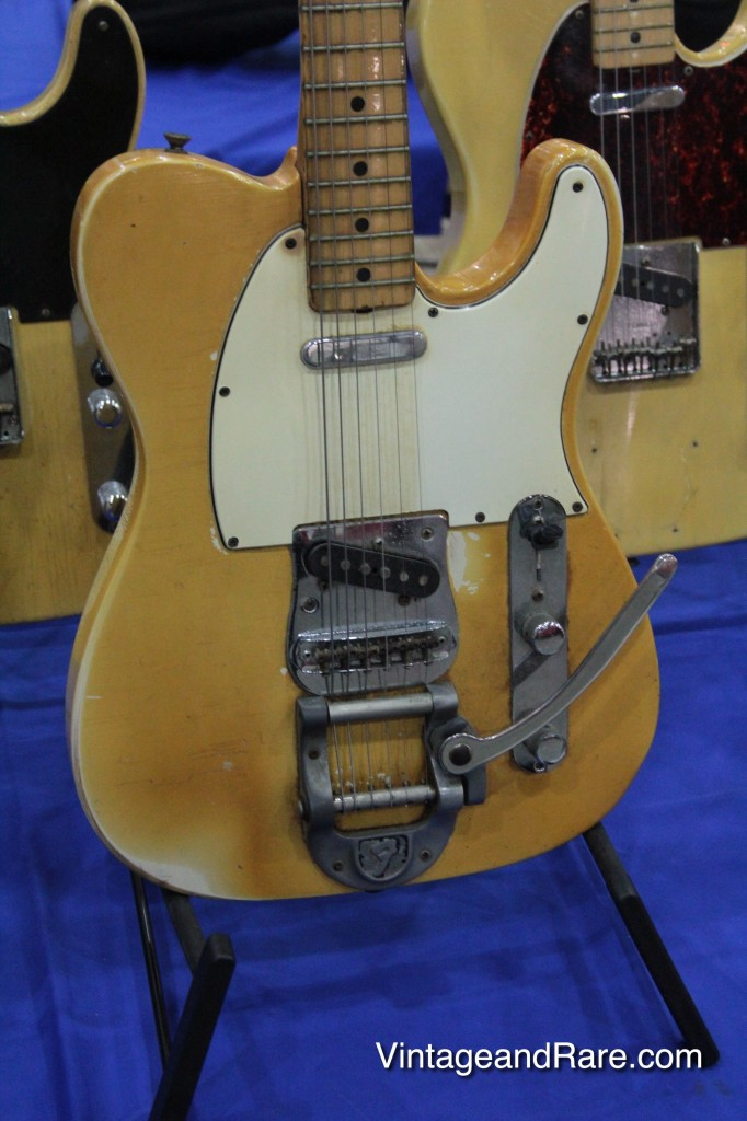 1969 Fender Telecaster w. Bigsby - vintage guitar