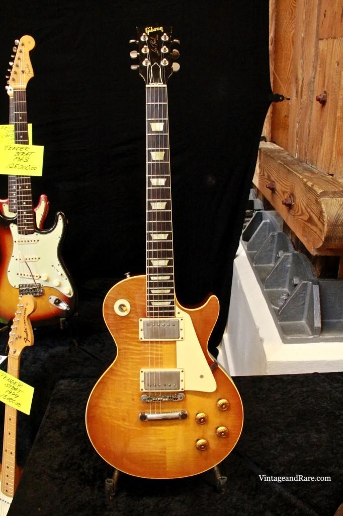 1960 Gibson Les Paul Standard Sunburst-10