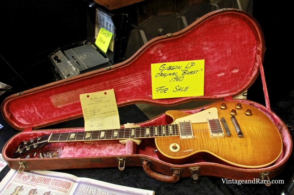 1960 Gibson Les Paul Standard Sunburst