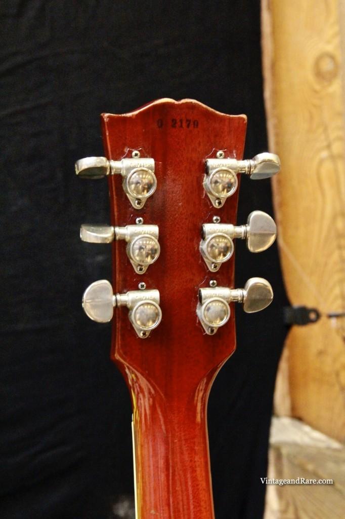 1960 Gibson Les Paul Standard Sunburst-14