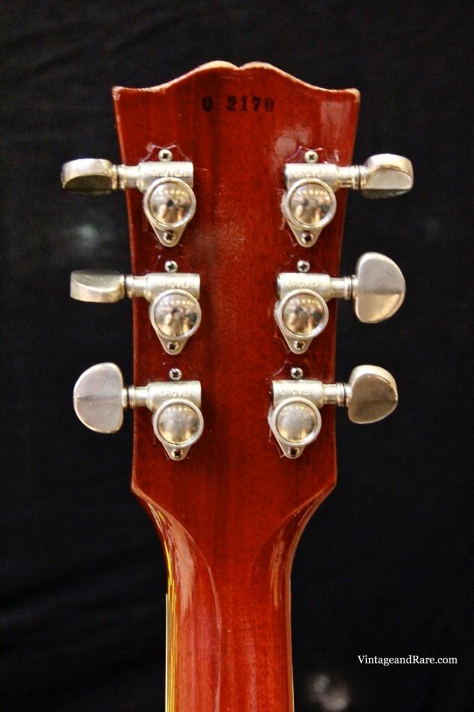 1960 Gibson Les Paul Standard Sunburst-15