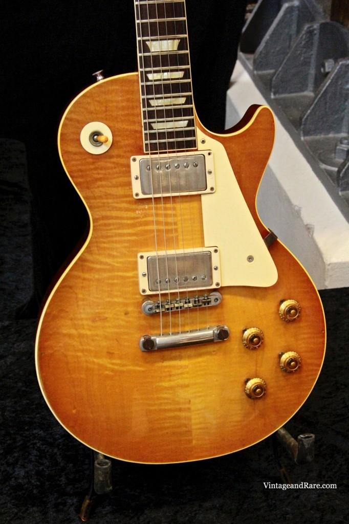 1960 Gibson Les Paul Standard Sunburst-6