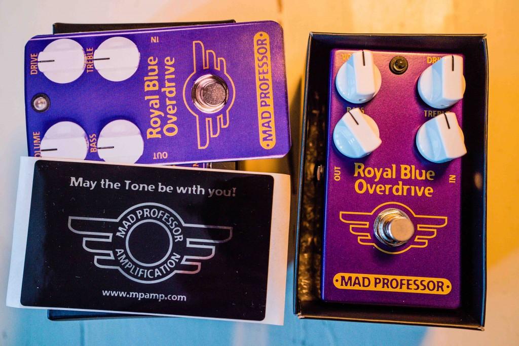 Mad Professor Royal Blue Overdrive - June Giveaway