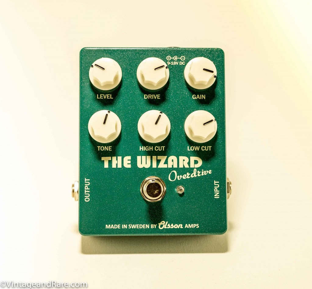 The Wizard Overdrive pedal from Swedish builder - Olsson Amps