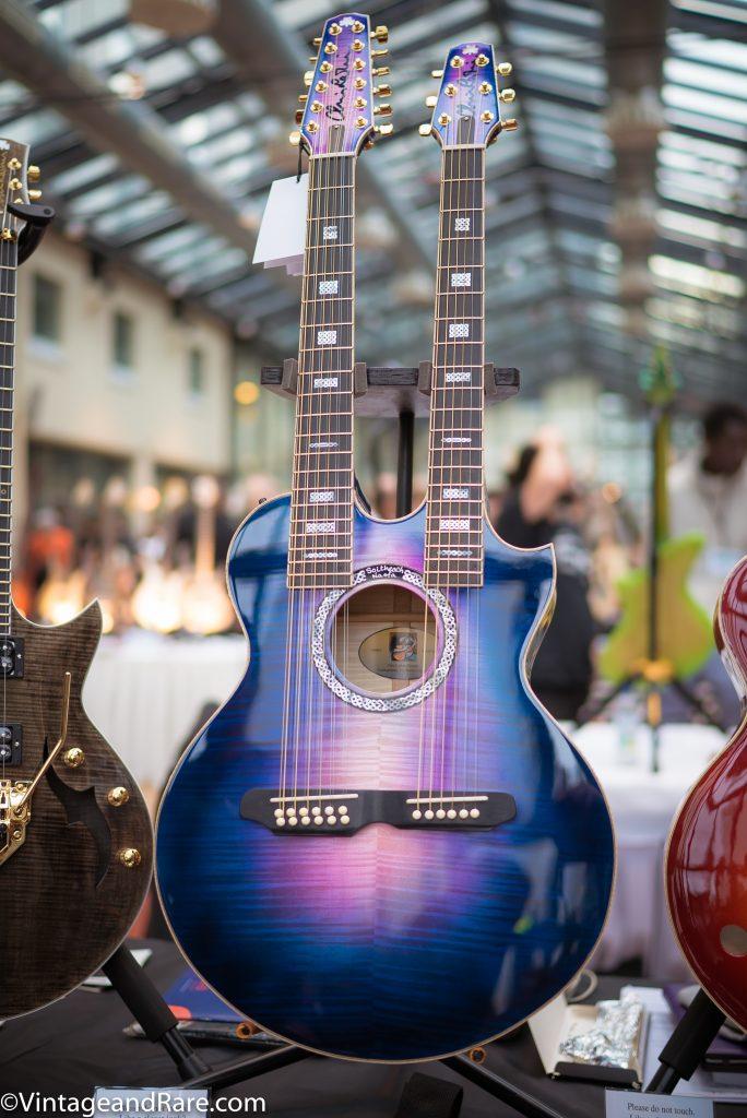 Chris Larkin Double Guitar
