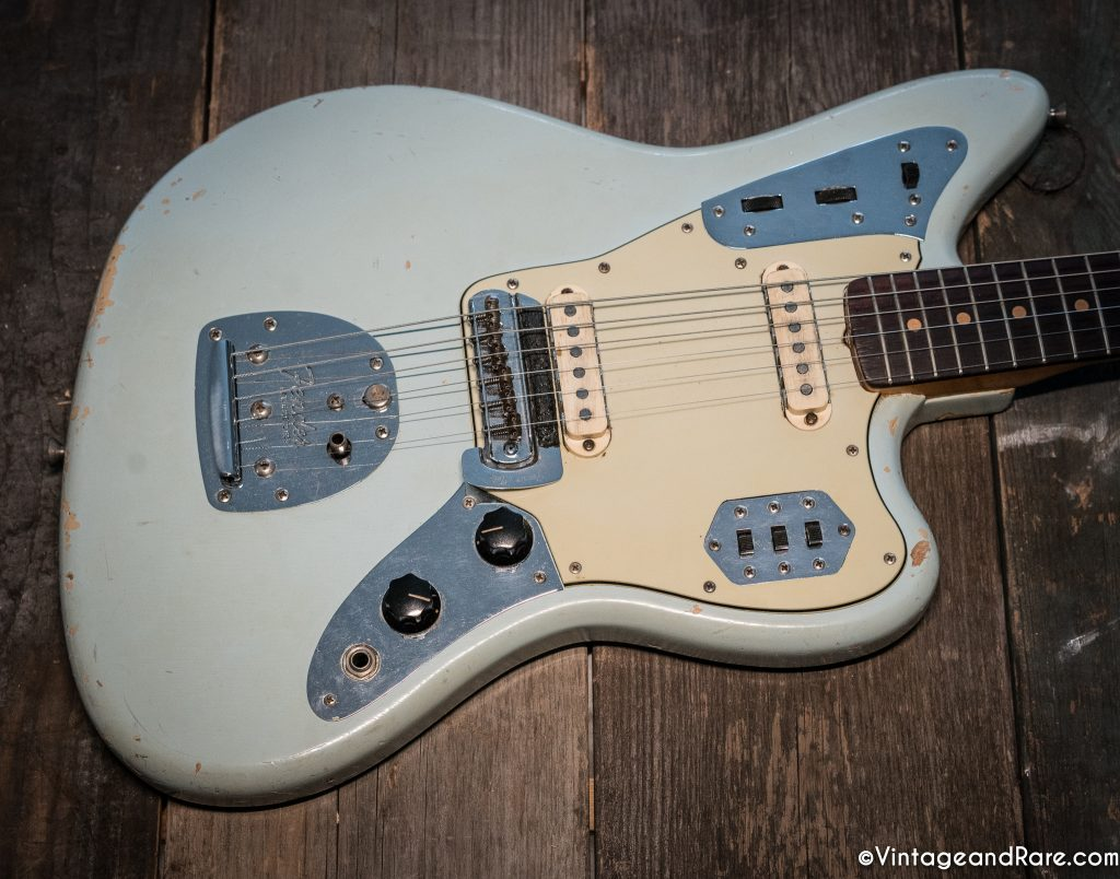 1962 Fender Jaguar Sonic Blue