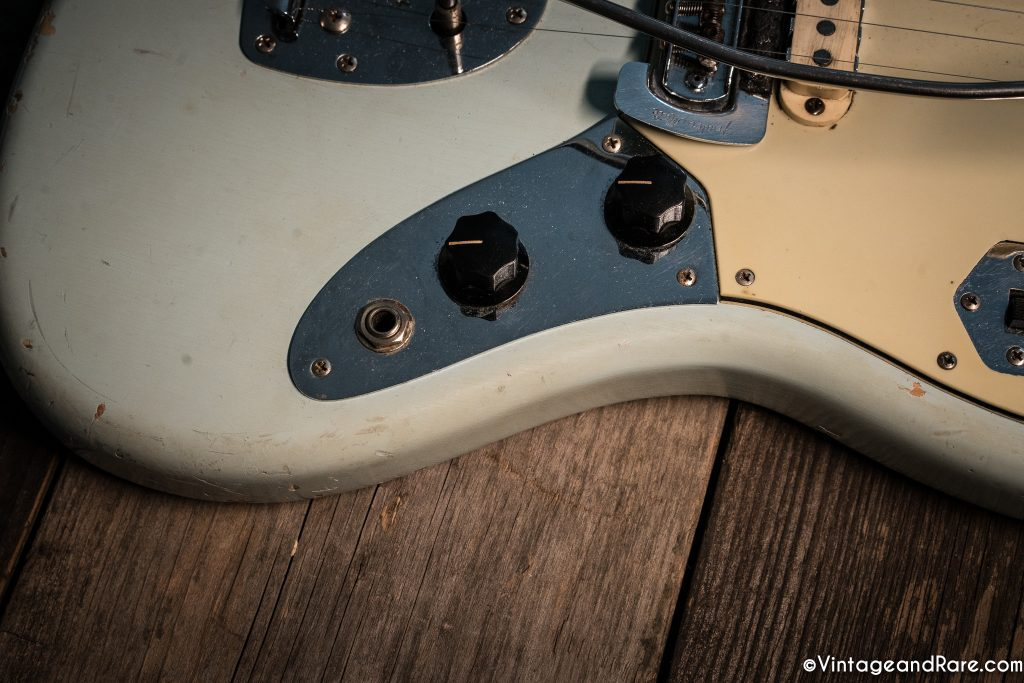 1962 Fender Jaguar Sonic Blue guitar for sale 11