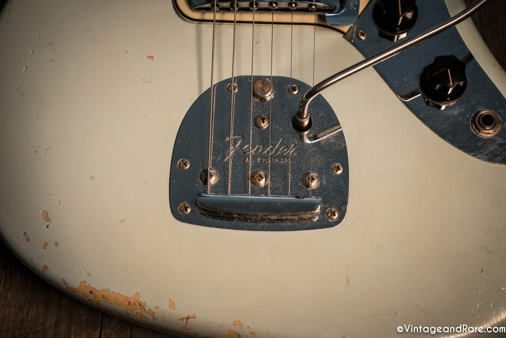 1962 Fender Jaguar Sonic Blue guitar for sale 10