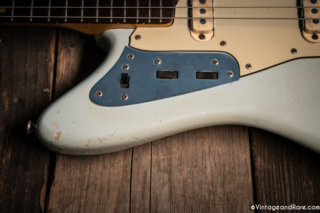 1962 Fender Jaguar Sonic Blue guitar for sale 9