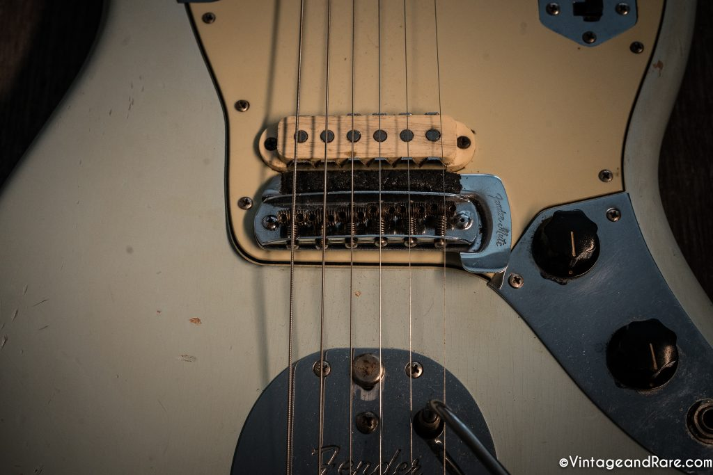 1962 Fender Jaguar Sonic Blue guitar for sale 8