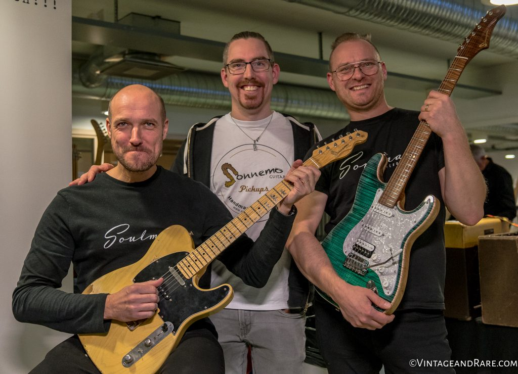 The teams of Soulman Boards & Sonnemo Guitars