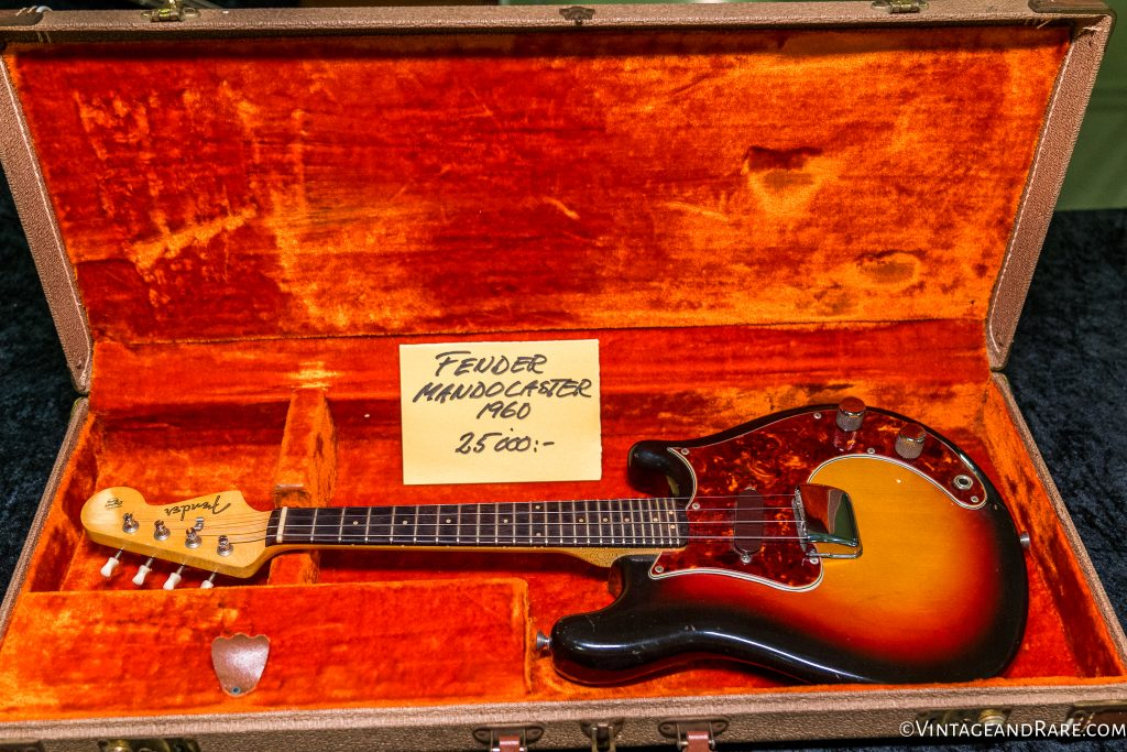 1960 Fender Mandocaster from V&R seller, Anders Anderson