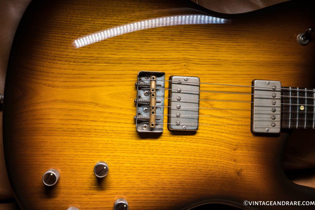 Barter Guitars Montreux up close Body shot