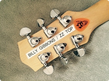 Gretsch Bo Diddley / Owned By Billy Gibbons Red